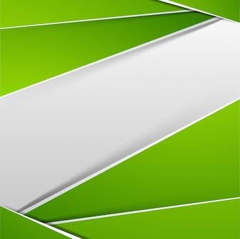 Moderne glanzende groene achtergrond