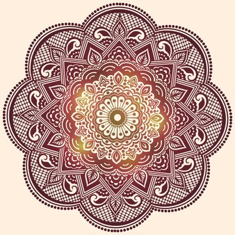 Mooi mandala ontwerp