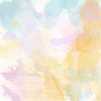 Mooie handgeschilderde aquarelachtergrond