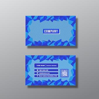 Mooie visitekaartje ontwerp