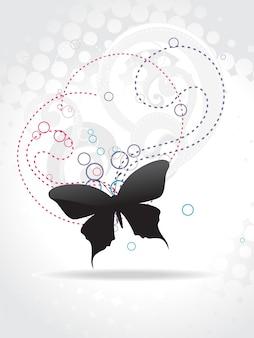 Mooie vlinder vector kunst