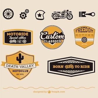 Motorfiets gratis vectorsymbolen