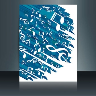 Muziek brochure