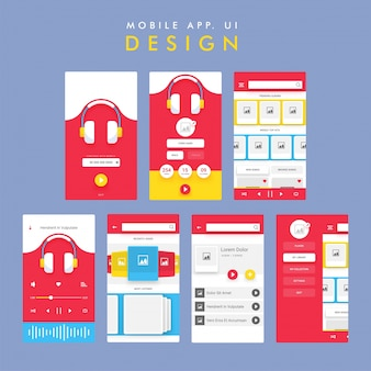 Muziek mobiele app