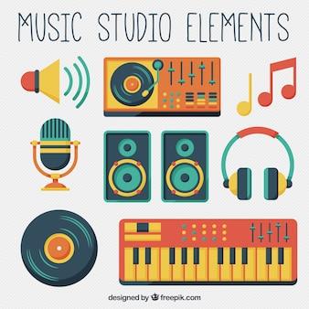 Muziek studio-apparatuur
