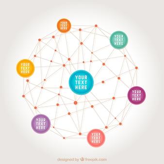 Netwerk-concept