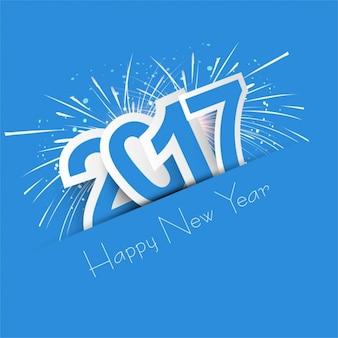 Nieuwe jaar 2017 achtergrond