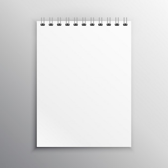 Notebookscherm mockup