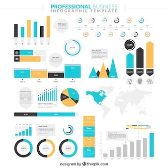 Nuttig infographic voor het bedrijfsleven