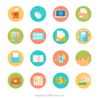 Nuttige zakelijke icoon collectie