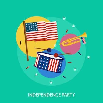 Onafhankelijkheidsdag elementen