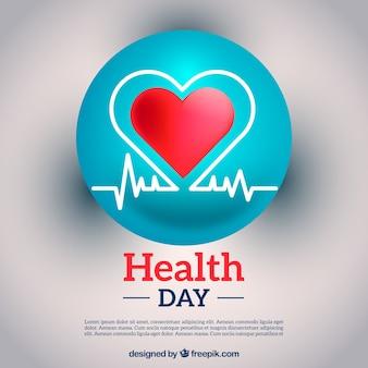 Ongericht gezondheid dag achtergrond