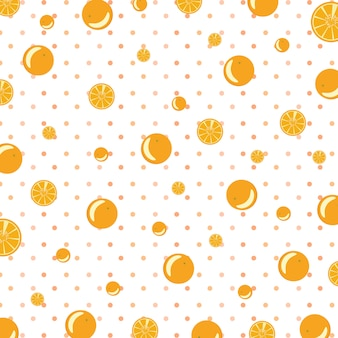 Oranje patroon achtergrond