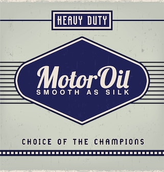 Oud label ontwerp