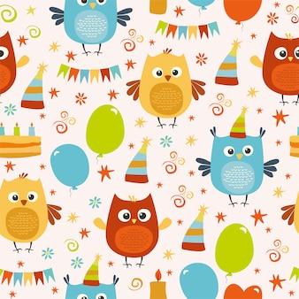 Owl partij patroon