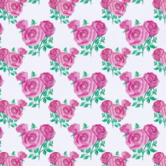 Paarse bloemenpatroon achtergrond