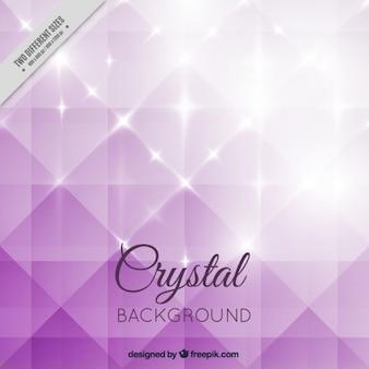 Paarse helder kristal achtergrond