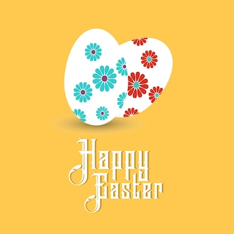 Paaseieren pictogrammen Vector illustratie van Pasen eieren voor Pasen ontwerp op gele achtergrond