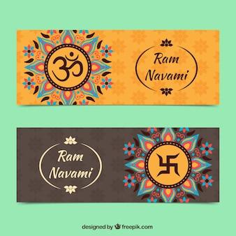 Pamnavmi abstract banners