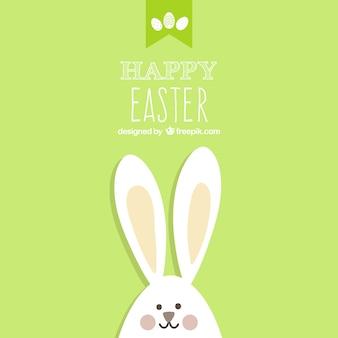 Pasen kaart met bunny