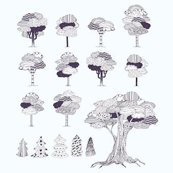 Patroon boom collectie