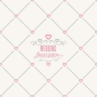 Patroon bruiloft ontwerp