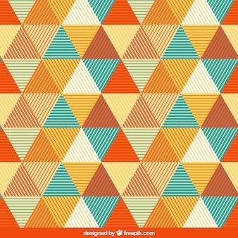 Patroon met driehoeken