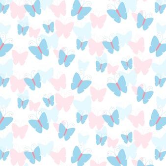 Patroon van de vlinder