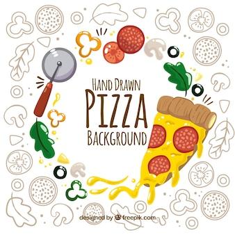 Pizza ingrediënten