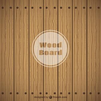 Platte houten bord