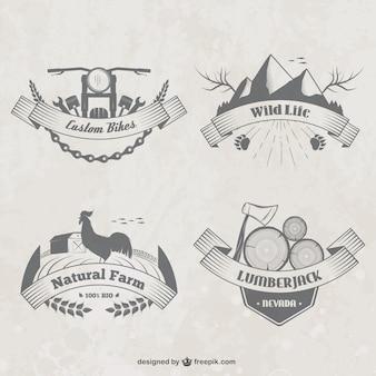Platteland badges