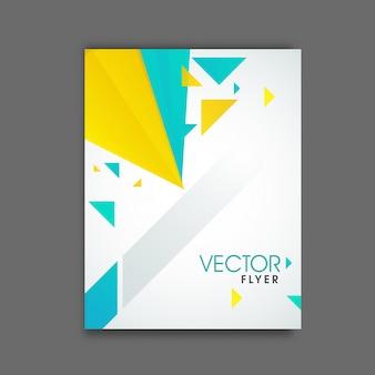 Print promotionele kantoor flyer professional