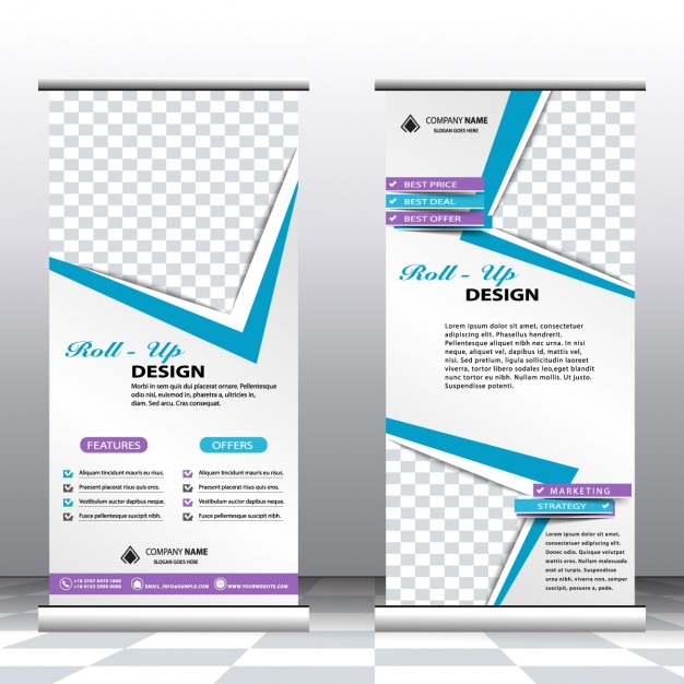 professionele roll up banners