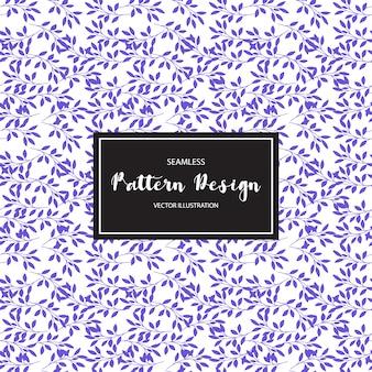 Purple leaves patroon backgorund