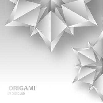 """""""Origami bloem achtergrond"""""""