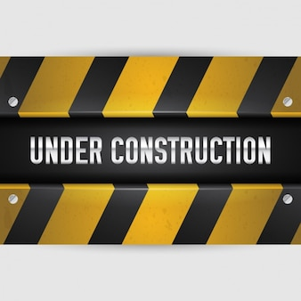 """Under construction"" design"