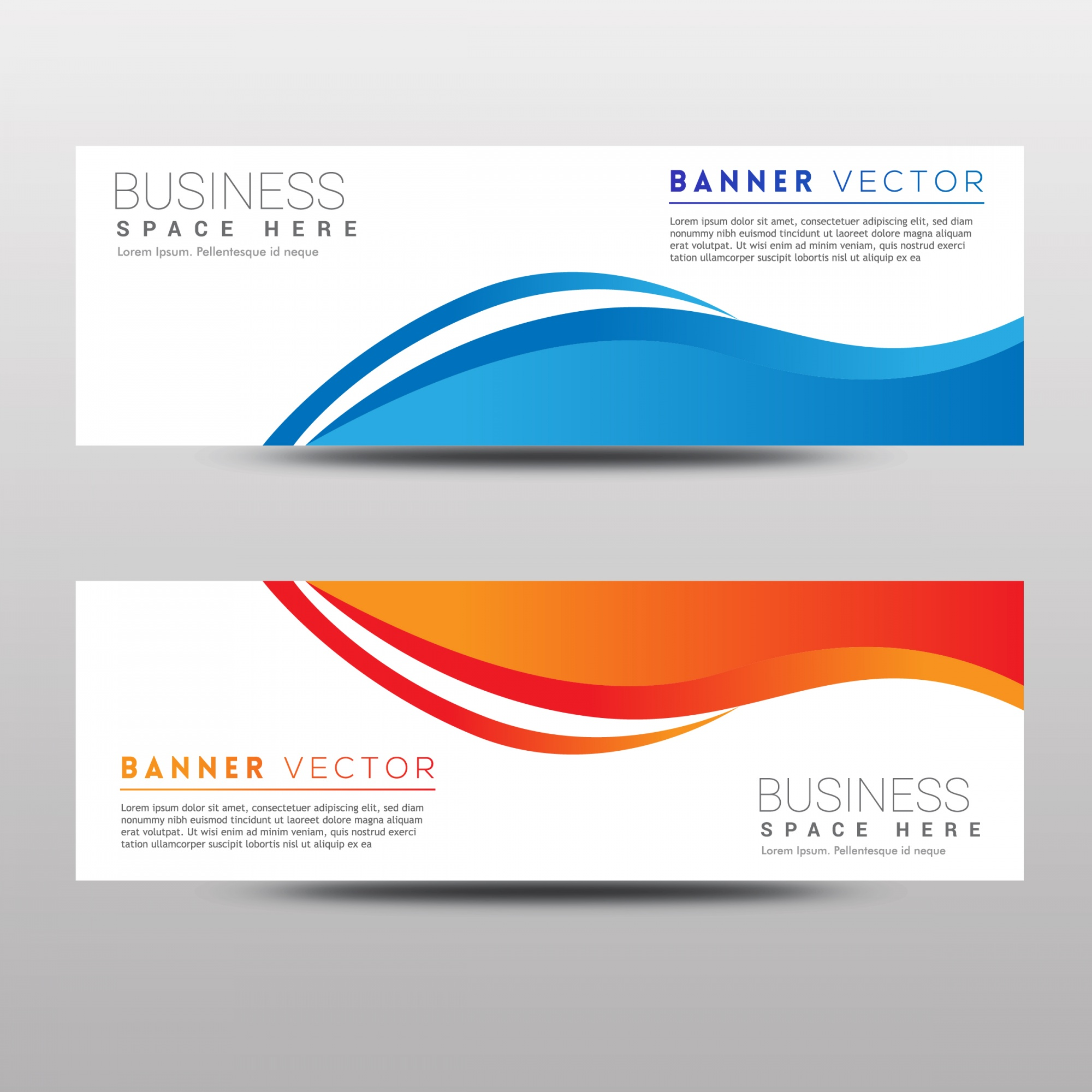 """Wave abstract banner template"""
