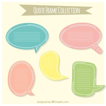 Quote frame collectie