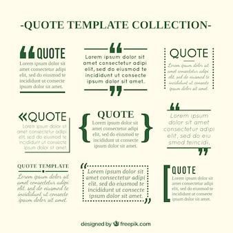 Quote templates in de krant stijl