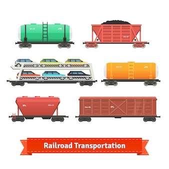 Railroad transport set