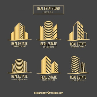Real state logo collectie