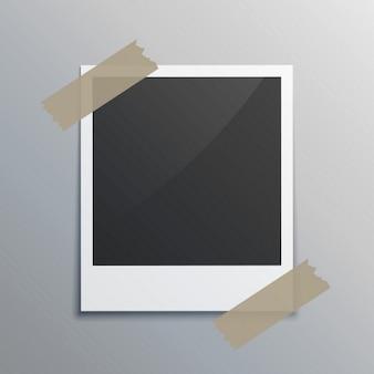 Realistische photograme met tape