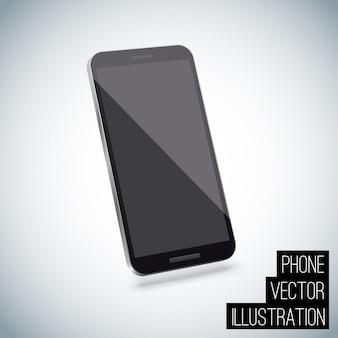 Realistische slimme telefoon vector eps 10