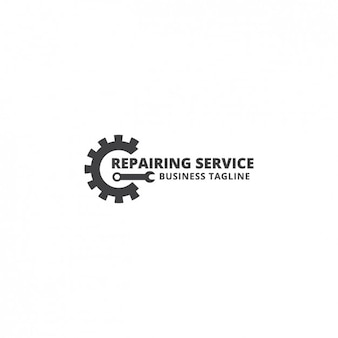 Reparatie service logo template