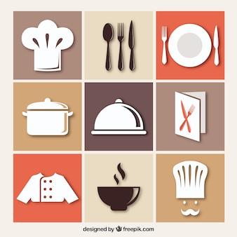 Restaurant pictogrammen