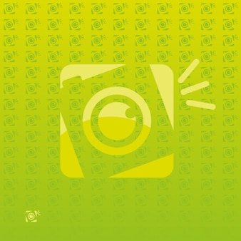 Retro fotografie gratis logo