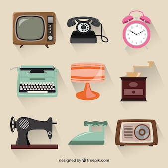 Retro gadgets collectie