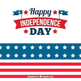 Rode en blauwe Verenigde Staten onafhankelijkheidsdag achtergrond