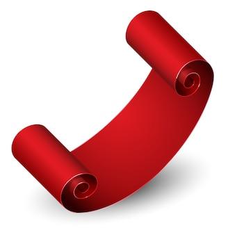 Rood lint ontwerp