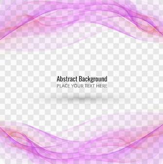Roze golvende achtergrond